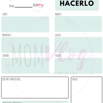 Grey Doodle Background General Weekly Planner
